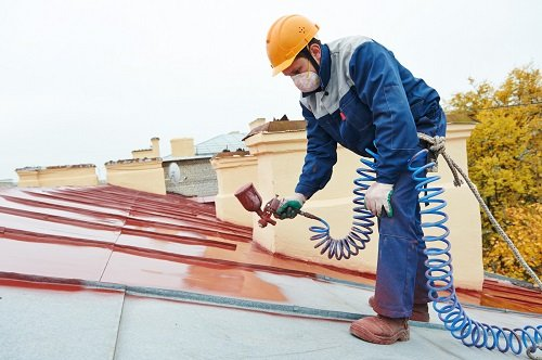 Commercial Painting - builder roofer painter worker